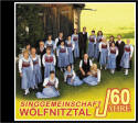 Cover CD 60 Jahre Singgemeinschaft Wölfnitztal